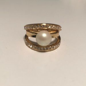 Kate Spade chunky gold ring size 8